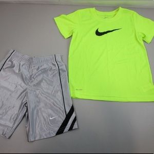 Nike Boy's Dri-Fit Shirt and Shorts Bundle